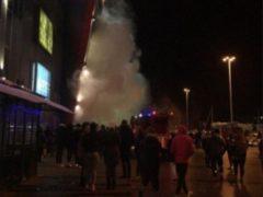 Серьёзный пожар в крупнейшем ТЦ Котласа «Столица» случился из-за курильщика