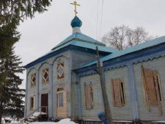 Пожарные Няндомского района спасли от гибели церковь XIX века