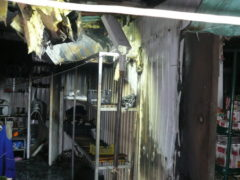 Три магазина сгорели в Архангельской области за минувшие сутки