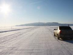 Все ледовые переправы регионального значения работают в Архангельской области