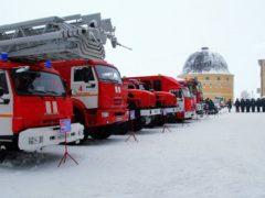 Архангельские спасатели получили ключи от новой техники