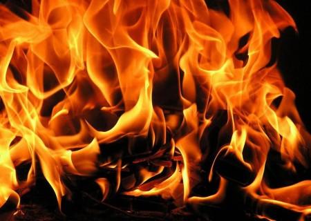 Впожаре дома многодетной семьи вАрхангельске пострадал младенец